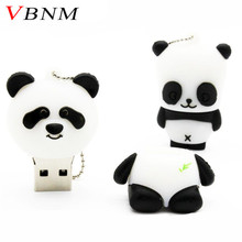 VBNM animal Panda USB Flash Drive mini Panda pen drive special gift fashion hot sale cartoon 4GB/8GB/16GB/32GB(China)