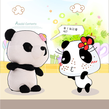 New Plush Giant Cute Panda Stuffed Animal Toy Doll for Birthday Gift