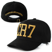 High Quality Newest Style CR7 Hats Baseball Caps Hip Hop Caps Sports Snapback Football Hats for Men Women