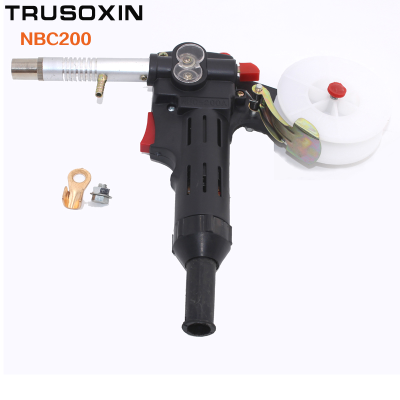 MIG welding machine Spool Gun Push Pull Feeder Aluminum copper or stainless steel DC 24V Motor Wire 0.6-1.2mm Welding Torch<br>