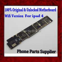 Wifi Version Original Unlocked For ipad 4 Mainboard,16gb Good Working Main Board For ipad 4 Motherboard with Chips Free Shipping(China)