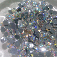 SS 10  hotfix  rhinestone crystal AB 1440 pcs each lot   for  wholesale t shirts  by China post air mail free shipping