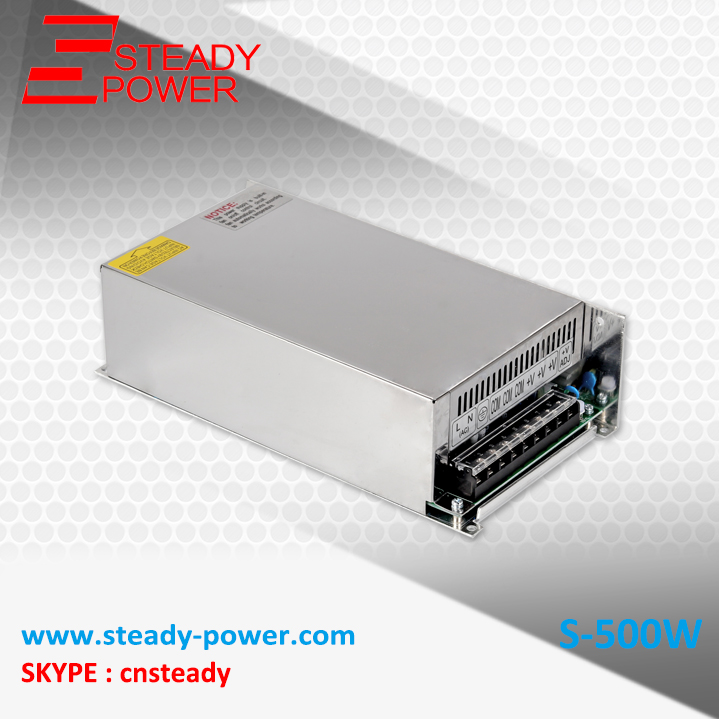 chinese wholesale CE approved led ac-dc 24v 20a switching power supply 500w power supply units<br>