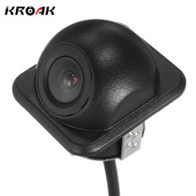 Kroak Universal HD IP67 110 Degree Wide Night Vision Car Auto Reverse Backup Rear View Camera(China)