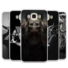 Satanic Skull terror design Cell Phone Case Cover for Samsung Galaxy J1 J2 J3 J5 J7 C5 C7 C9 E5 E7 2016 2017 Prime