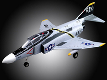remote control rc EDF plane jet EDO F4 F-4 up PNP standard version(China)