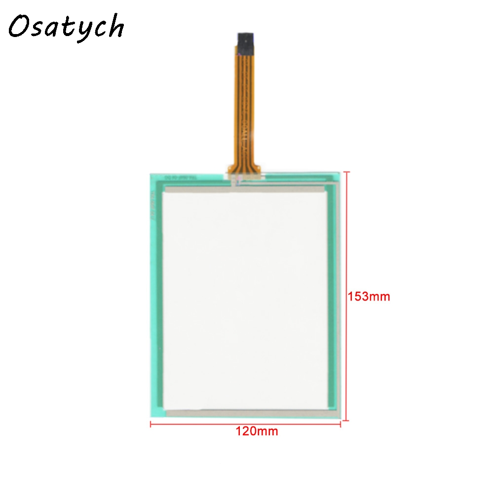 6.4 Inch 4Wire Resistive 153mm*120mm Touch Screen Panel for TR5-064F-04 UN 153*120 Touch Panel Glass Free shipping<br>