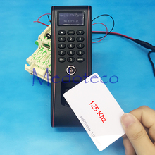 Free Shipping IP65Waterproof fingerprint Access Control Out door Access Control with rfid Card Access Controller Tcp/ip TF1700