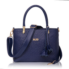 2017 Classic Women Shoulder Bag bolsa feminina Vintage Saffiano Handbag Fashion Ladies Pu Leather Boston Tote Bag Blue ST9227