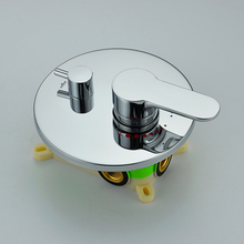 Free shipping In Wall Mounted Faucet Bath and Shower Mixer Valve Brass Chrome one or two Function Actuated Faucet Valve BA521