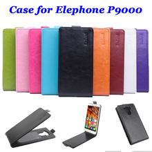 9 colors High Quality luxury Leather Case for Elephone P9000 Flip Cover case for Elephone P 9000 cellphone Cases phone housing