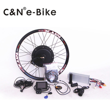 super speed 100km/h 3000w powerful electric bike kit / hub motor conversion kit with TFT disply