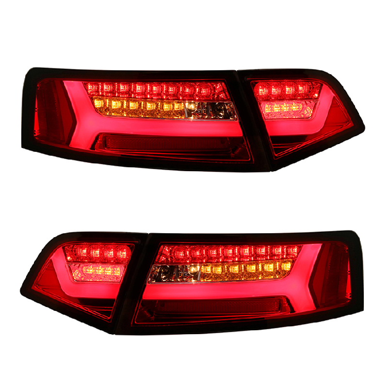 for AUDI A6 / A6L LED TAIL LIGHTS 2009-2012 NEW ARRIVAL RED Color(China)