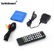kebidumei High Quality Mini Full 1080P HD Media Player MKV/H.264/RMVB with remote controller with EU/US plug wholesale(China)