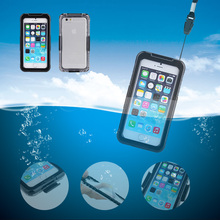 IP68 Shock Proof Phone Cover Case For iPhone SE 5 5S 6 6s plus 7 7Plus Full Coverage Waterproof Shockproof Fingerprint Touch