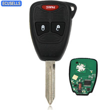 New Replacement 2+1/3 Button Smart Car Key Remote Key Fob 315Mhz ID46 Chip FCC M3N for Chrysler for Dodge for Jeep Uncut Blade(China)