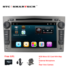 2 din Android 6.0.1 Car DVD Multimedia Player GPS Navigation for Opel Astra H G J Antara VECTRA ZAFIRA Vauxhall with CAN-BUS(China)