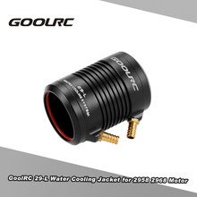 GoolRC Original Aluminum 29-L Water Cooling Jacket Cover for 2958 2968 RC Boat Brushless Motor