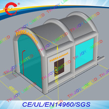 6x4x3m free shipping car painting booth cheap spray booth custom make inflatable spray booth / cheap paint booth in stock sale(China)