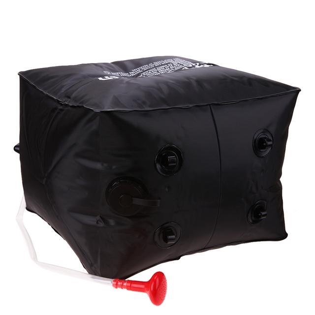Foldable Solar Energy Heated Camp Shower Bag