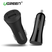 Universal Dual USB Car Charger Smart Car-Charger Fast Mobile Phone Travel Charger Adapter For iPhone 7 LG Samsung Xiaomi Ugreen