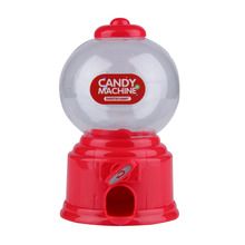 NHBR Cute Sweets Mini Candy Machine Bubble Gumball Dispenser Coin Bank Kids Toy