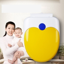 toilet seat cover set soft closing baby adult double use white toilet lid cover 2016 fashion hot selling toilet seat plastic(China)
