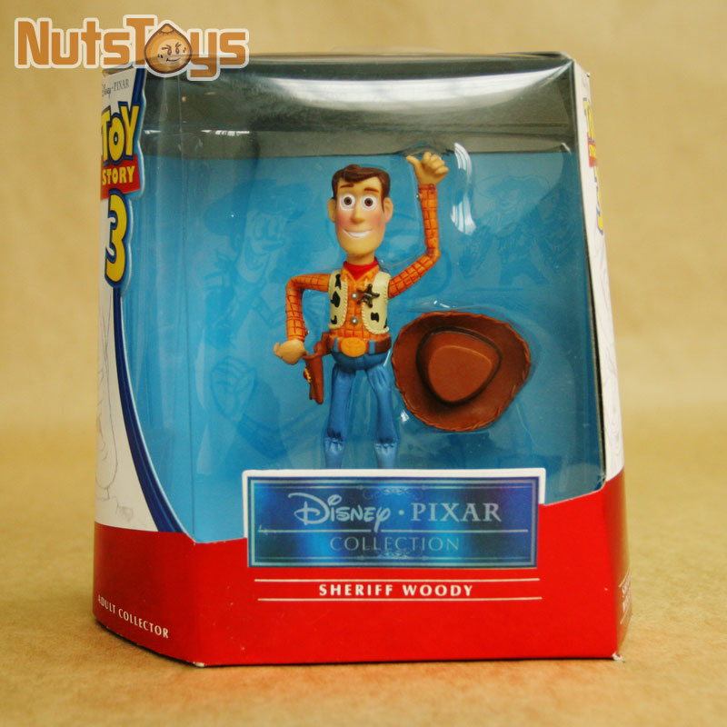 Anime Toy Story 3 Woody PVC Action Figure Collectible Model Toy Kids Gifts 10cm KT447<br><br>Aliexpress