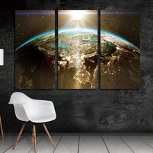 Popular print maps buy cheap print maps lots from china print maps wall picture world map canvas painting wall modular picture for living room classical europe watercolor decoration print gumiabroncs Images