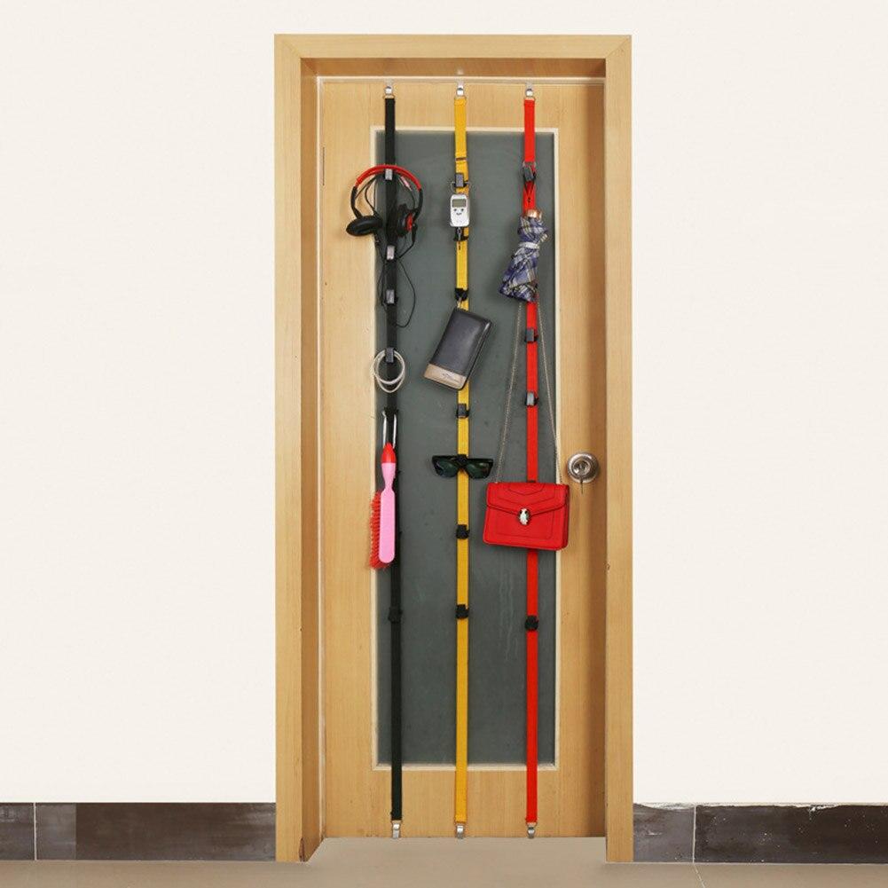 Online Cheap Height Adjustable Hook Rack With Garment Cap After Door