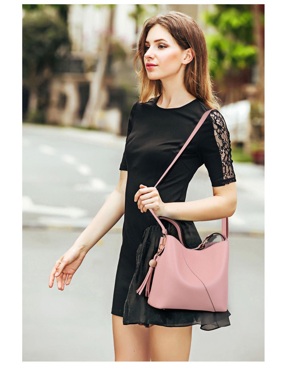 Leather Bag Luxury PU Women Shoulder Bags Handbag Brand Designer Bags New 17 Fashion Ladies Hand Bag Women's Bolsa Feminina 6