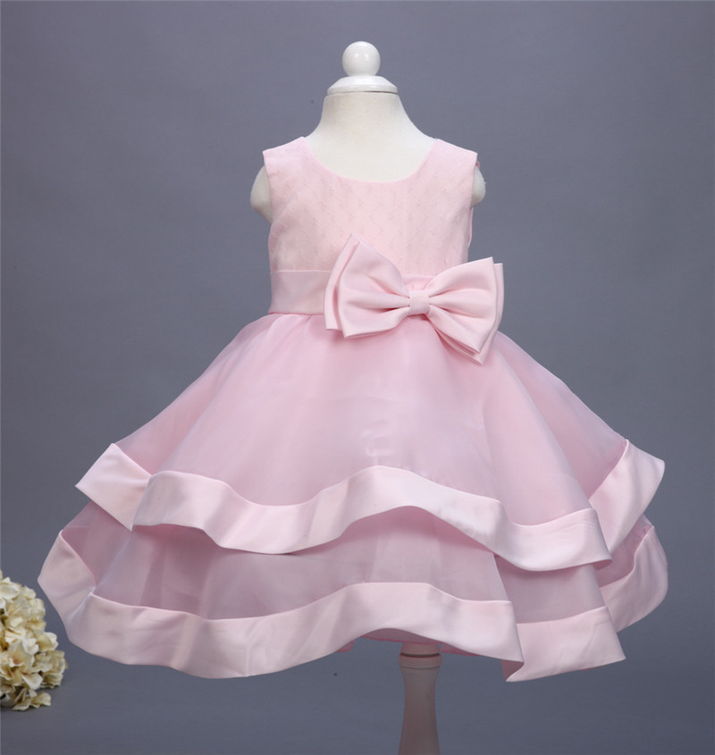 European Style 2017  Girl Baby Children Princess Dress Girl Summer Party Wedding Dress Baby Girls Clothing Layered Tutu Dresses<br><br>Aliexpress