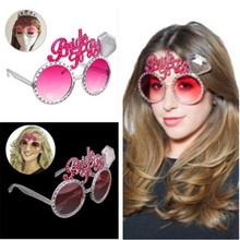 Bride to be Sunglasses Bachelorette Fancy Bride Dress Costume Party Decorations Supplies Hen Wedding Night Party Glasses Favors(China)