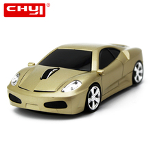 CHYI Wireless Mouse 2.4GHZ Optical Sports Car Cool Mice 1600DPI Gamer Gaming Mause Hot Sale Mouse For PC Computer Laptop(China)