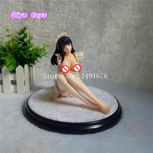 Sexy girls anime resin figures rare editions nude sex figure doll poly resin Adult gk Anime girl Watase Mochi(China)