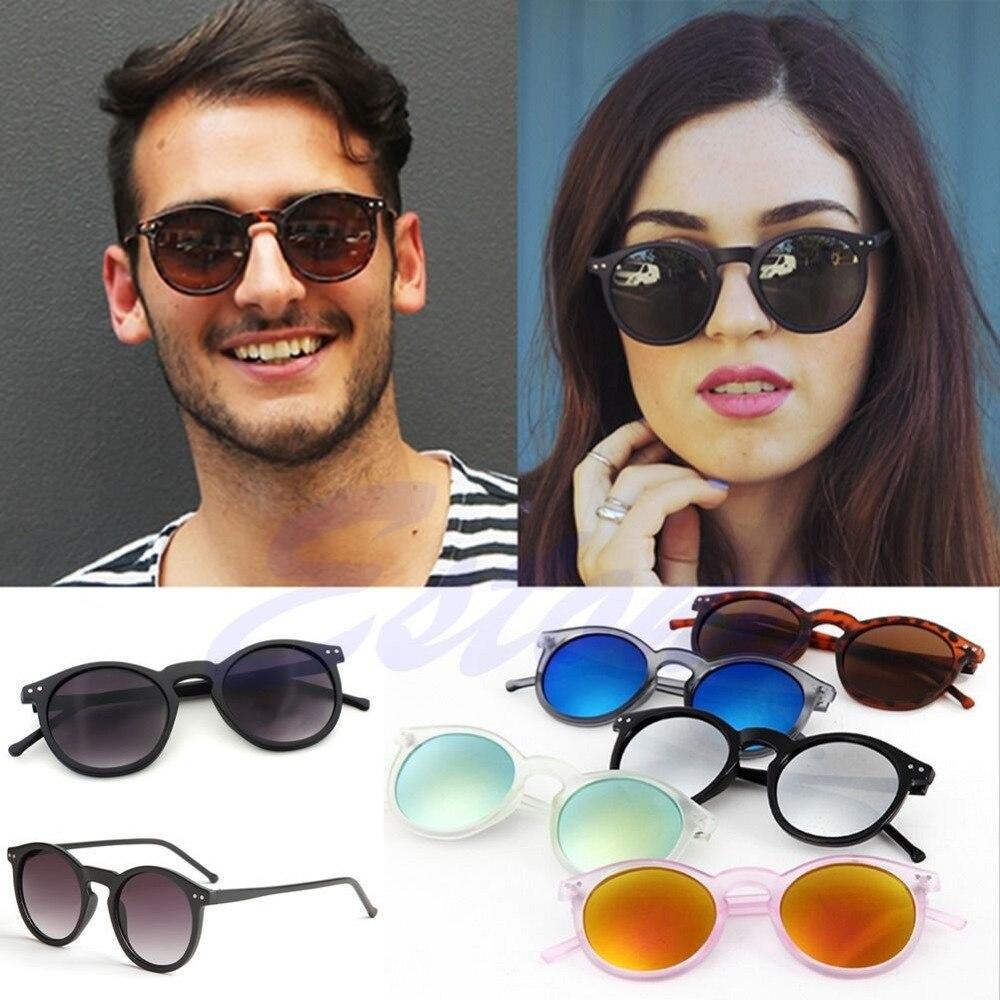 Vintage Retro Men Women Glasses Round Metal Frame Mirror Lens Sunglasses Eyewear-J117<br><br>Aliexpress