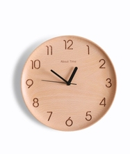 Buy Xiaomi mijia watch Time Wall Clock Beech Wooden Mute Desktop Table Clocks Watch Xiaomi Smart Home for $59.99 in AliExpress store