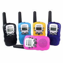 1 Pair Kids Radio Walkie Talkie Retevis RT-388 RT388 UHF 462-467MHz 0.5W 22CH US Frequency Portable Radio Hf Transceiver A7027A