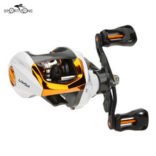 12+1BB Left Right Hand Fishing Reel Ocean G-Ratio 6.3:1 Bait Casting Fishing Reels Magnetic Brake Fishing Gear Carretilha Pesca