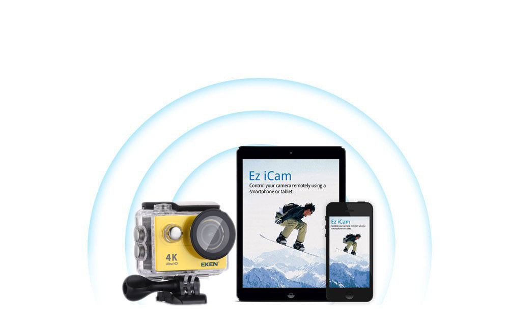 New Arrival!Original Eken H9R / H9 Ultra HD 4K Action Camera 30m waterproof 2.0' Screen 1080p sport Camera go extreme pro cam 18