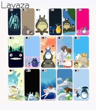 Lavaza 2267G My Neighbor Totoro Ztn Print Hard Transparent Case Cover for iPhone 7 7 plus 4 4s 5 5s 5c SE 6 6s Plus case cover