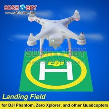 Landing Field Model Airfield Parking Apron Drone Launch Pad Air Base Sticker Decal Tag Signboard for DJI Phantom 3/2 1pc