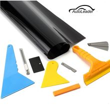New 19.7 inch x 23FT Car Window Tint Tools Kit For Auto Film Tinting Scraper Application Installation 15% VLT(China)