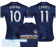 NEW LA Galaxy jerseys 2017/2018 top thai quality Los Angeles Galaxy Soccer Jerseys 17/18 GERRARD KEANE BECKHAM Uniform Football(China)