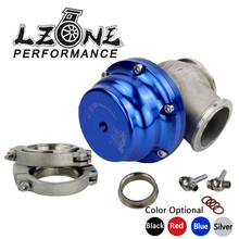 LZONE RACING - TL V44 MVR 44mm V Band External Wastegate Kit 24PSI Turbo Wastegate with V Band Flange and Logo JR5833(China)