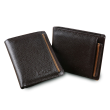 wallet men with removable slot men wallets genuine leather male clutch male wallet purse short brand luxury men's money bag(China)
