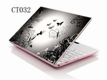 "Silver Butterfly Laptop Netbook Decal Sticker Protector Skin For 13.3"" 14"" 15"" 15.4"" 15.6"" Laptop(China)"