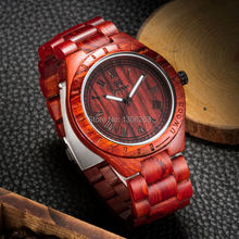 alibaba express best promotion watch pass CE&ROHS certification high-end luxury vintage watch new wood watch(China)