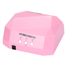 Free Shipping Auto Lamp Light Care Machine CCFL 36W Diamond Shaped Best Curing LED Lamp Nail Dryer for UV Gel Nail Polish