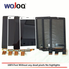 WOJOQ Original 4.6'' Display For Sony Z3 Compact Mini D5803 D5833 LCD Display Touch Screen Digitizer Assembly Replacement Parts(China)